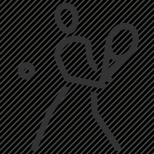 Grand slam, sport, squash, tennis, tennis player, tennis court icon - Download on Iconfinder