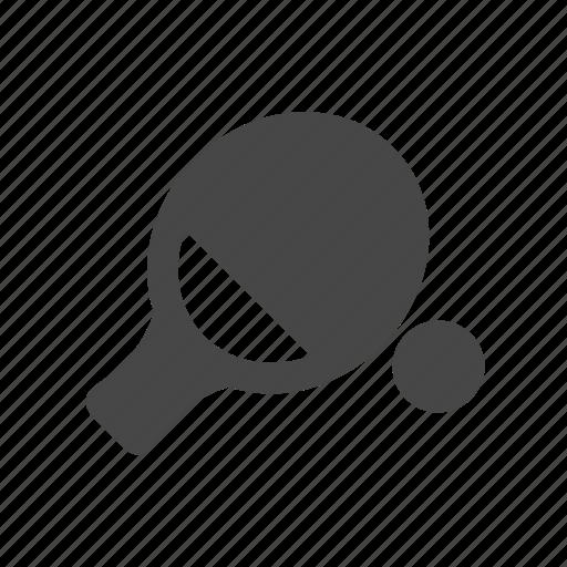 ball, racket, table, tennis icon