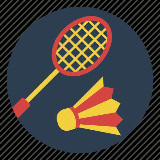 badminton, birdie, game, outdoors, play, racket, sport icon