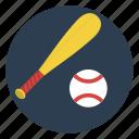 ball, baseball, bat, game, pitcher, play, team icon