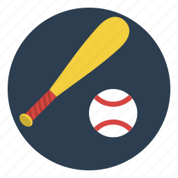 ball, baseball, bat, game, pitcher, play, team icon