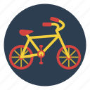 bicycle, bike, outdoors, pedal, play, ride, wheels icon