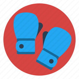 boxing, fight, game, gloves, power, ring, strenght icon