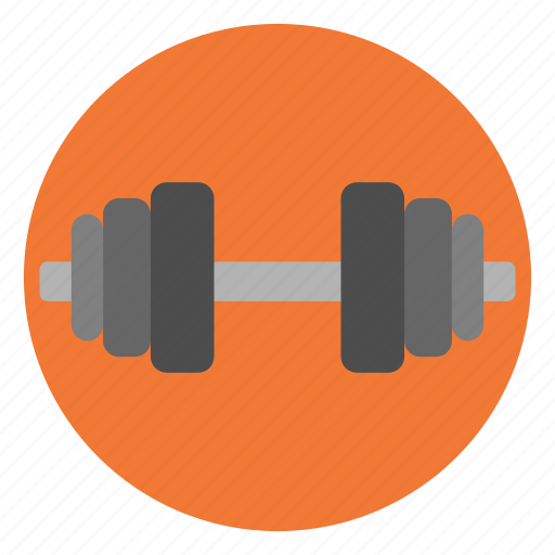 dumbbell, exercise, gym, lift, muscle, weight, workout icon