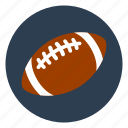 american, ball, football, game, outdoors, play, team icon