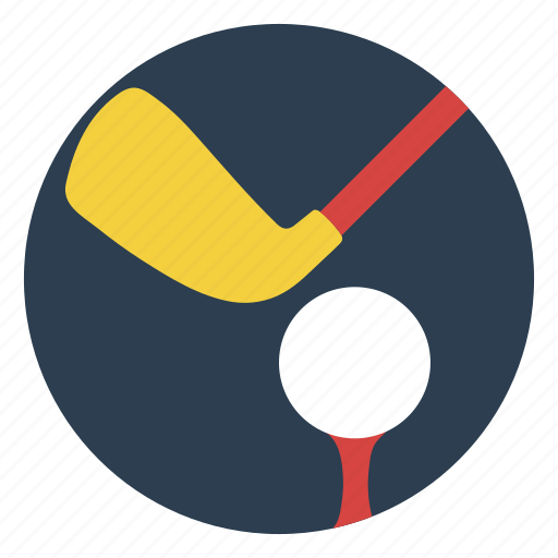 ball, club, course, game, golf, outdoors, play icon