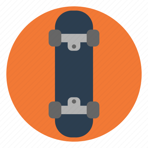 action, activity, outdoors, play, skateboard, sport, wheels icon
