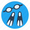diving, exercise, lifestyle, scuba, sport, swimming, water icon