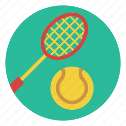 ball, game, outdoors, play, racket, sport, tennis icon