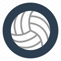 ball, beach, game, outdoors, sport, team, volleyball icon