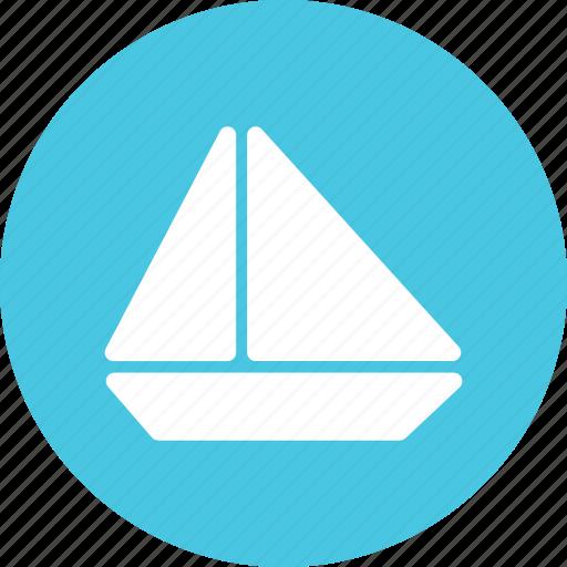 boat, sail, sailboat, surf icon