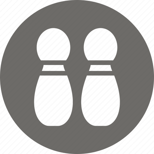 bowling, bowling pins, club, pins icon