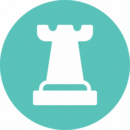 castle, chess, game, piece, strategy icon