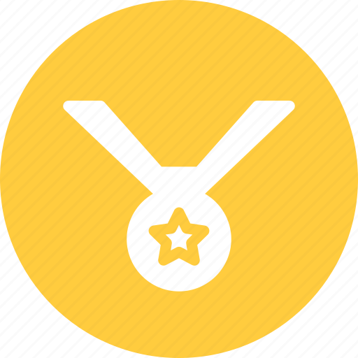 award, first place, gold, medal, winner icon
