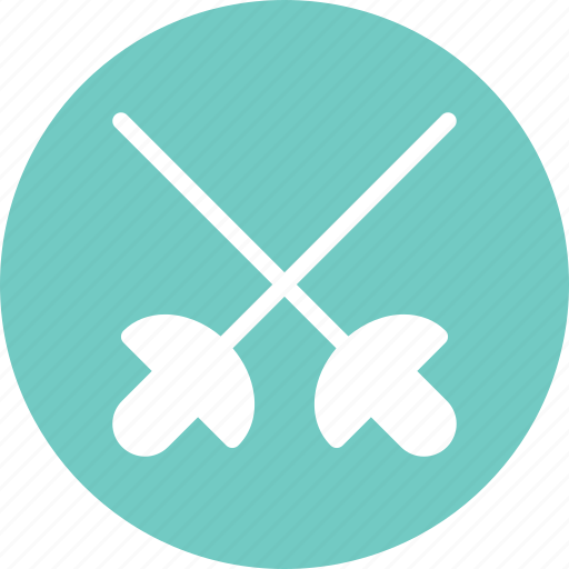 fencing, game, olympic, sport, swords icon