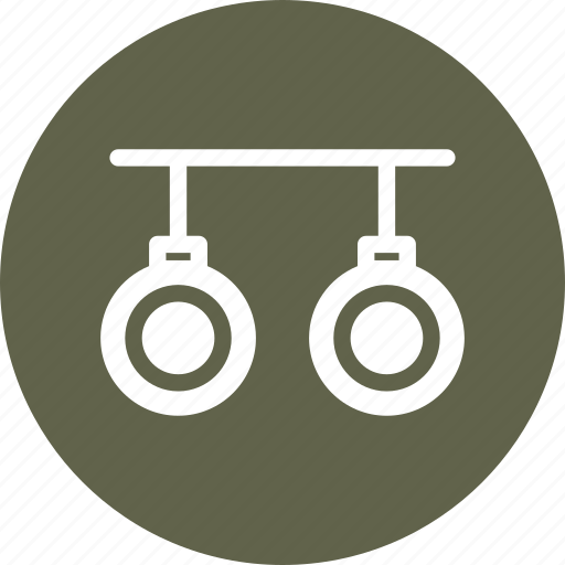 equipment, fitness, gym, rings icon