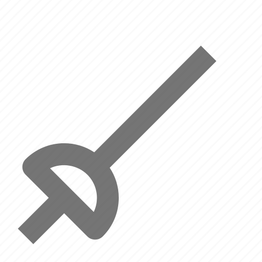 fencing, sword icon