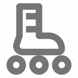 rollerblade, skate icon