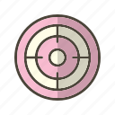 achivement, dart, dartboard, goal, sucess, target icon