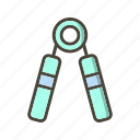 arm, flexing, strength icon