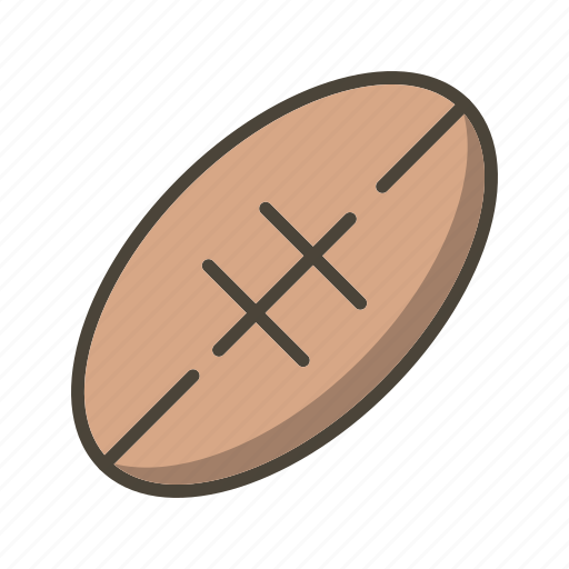 american football, ball, rugby icon