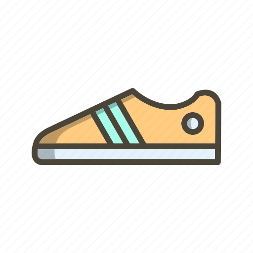 foot wear, shoes, sneaker icon