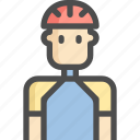 avatar, bicycle, bike, cycling, man, sport, sports icon