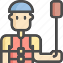 avatar, boat, canoes, man, ship, sport, sports icon