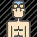 avatar, glass, man, sport, sports, swim, swimming