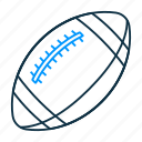 american, football, american football, rugby, sports, ball, sport