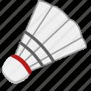 badminton, ball, game, shuttle, shuttlecock, sport, sports icon