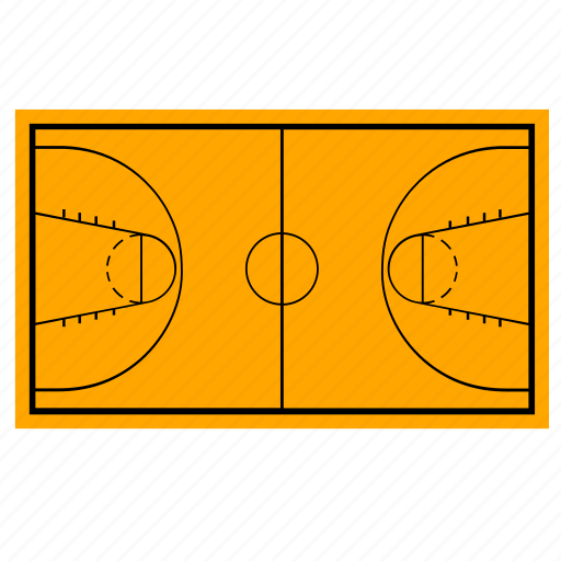 basketball, court, field, game icon