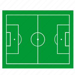 court, field, football, game, grass icon
