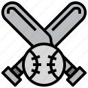 baseball, bat, sports, team icon