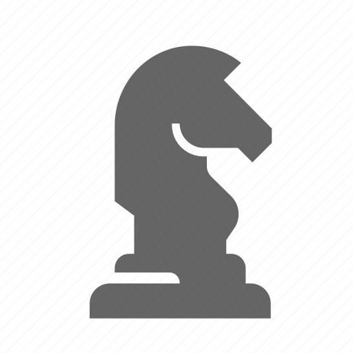 checkerboard, chess, game, horse, strategy, tactics icon