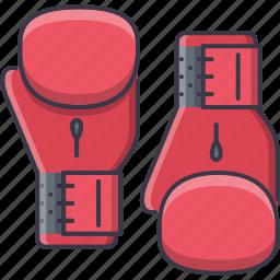 box, boxing, equipment, glove, sport, training icon