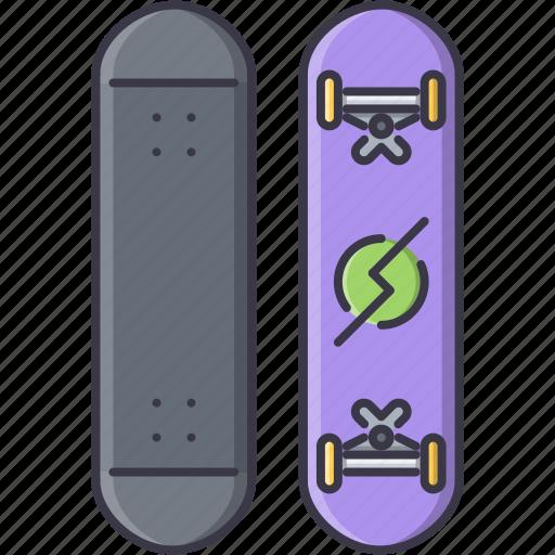 equipment, game, skateboard, sport, training icon