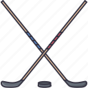 equipment, game, hockey, puck, sport, stick, training