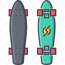 equipment, game, longboard, sport, training