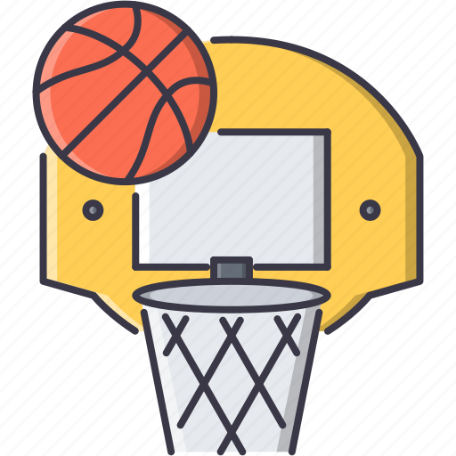 Ball, basket, basketball, equipment, game, sport, training icon - Download on Iconfinder