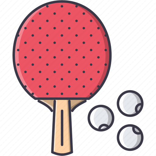 equipment, game, rackets, sport, table, tennis, training icon