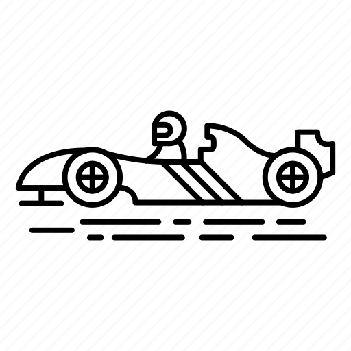 car, competition, extreme, game, moto races, sport, team sport icon