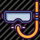 diving, goggles, mask, scuba, snorkeling, sport