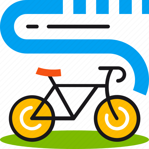 bicycle, cycling, fitness, health, ride, sport, workout icon