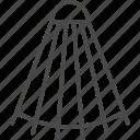 badminton, game, line, outline, shuttlecock, sport, volant