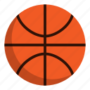 athlete, basketball, sport icon