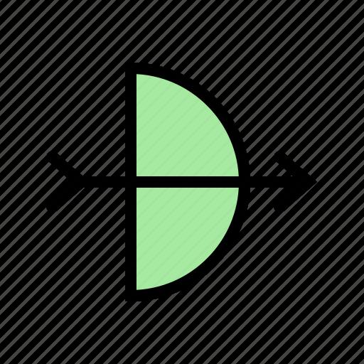 arrow, arrows, sport, sports icon
