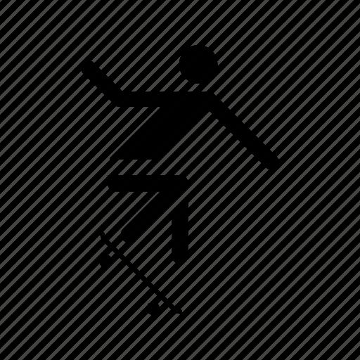 glyph, glyphicon, glyphsporticon, skate, skateboard, skating, sport icon