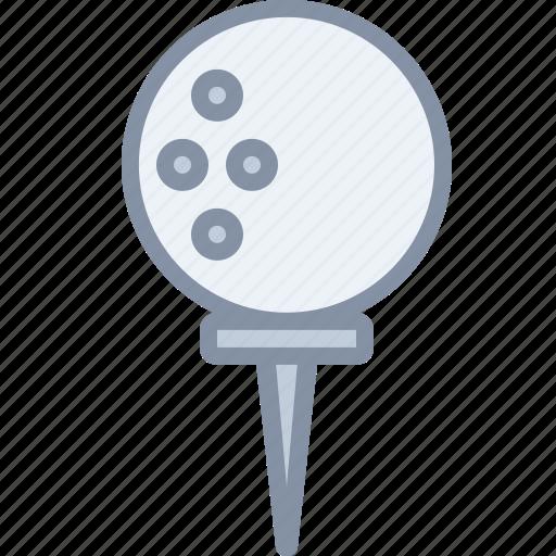 ball, game, golf, sports icon