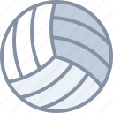 ball, game, sports, volleyball
